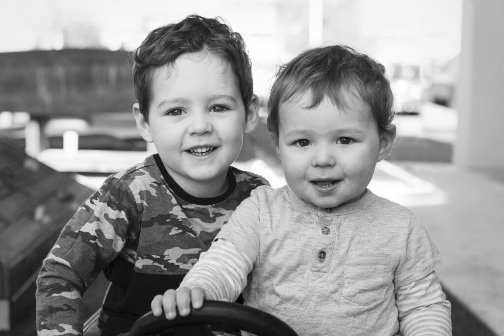 Andrew & Connor 12x8_BW
