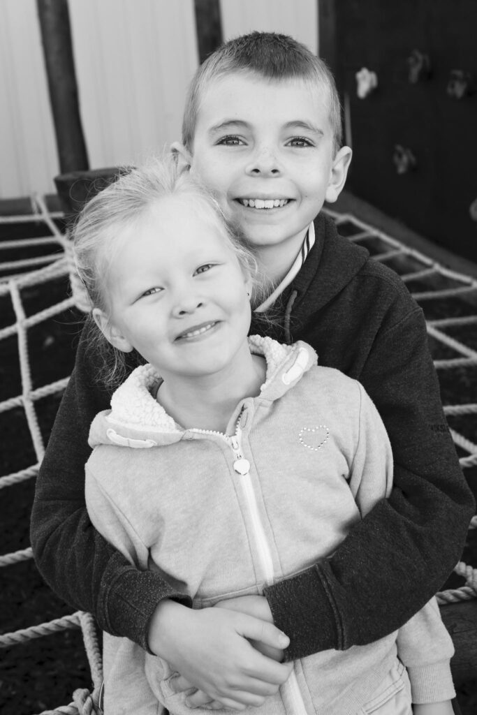 Georgie & Samuel Brown 12x8_BW
